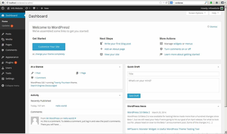 Как зайти в панель управления WordPress (ВИДЕОУРОК)