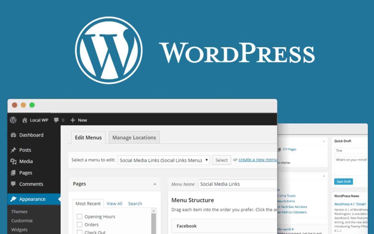 Как быстро создать сайт на WordPress (ВИДЕОУРОК)