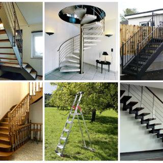 Типы лестниц. Что выбрать?