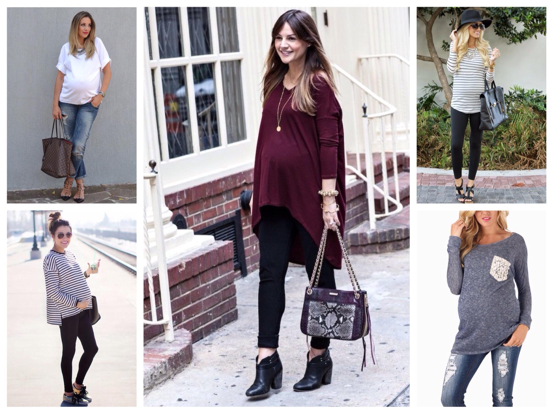 Стильная одежда для беременных в интернет-магазине loncq.ru
