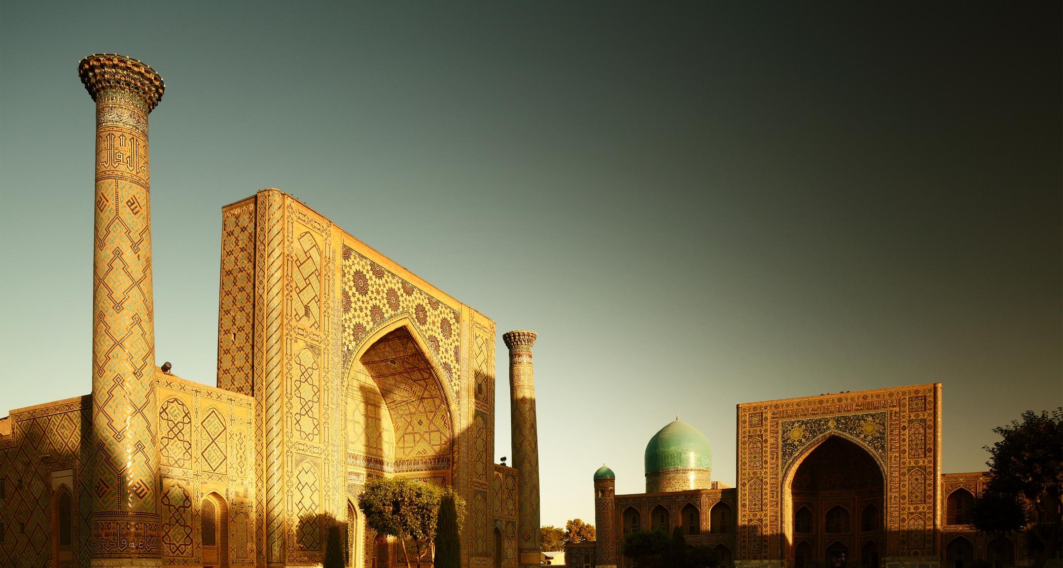 Красивая и загадочная страна Узбекистан