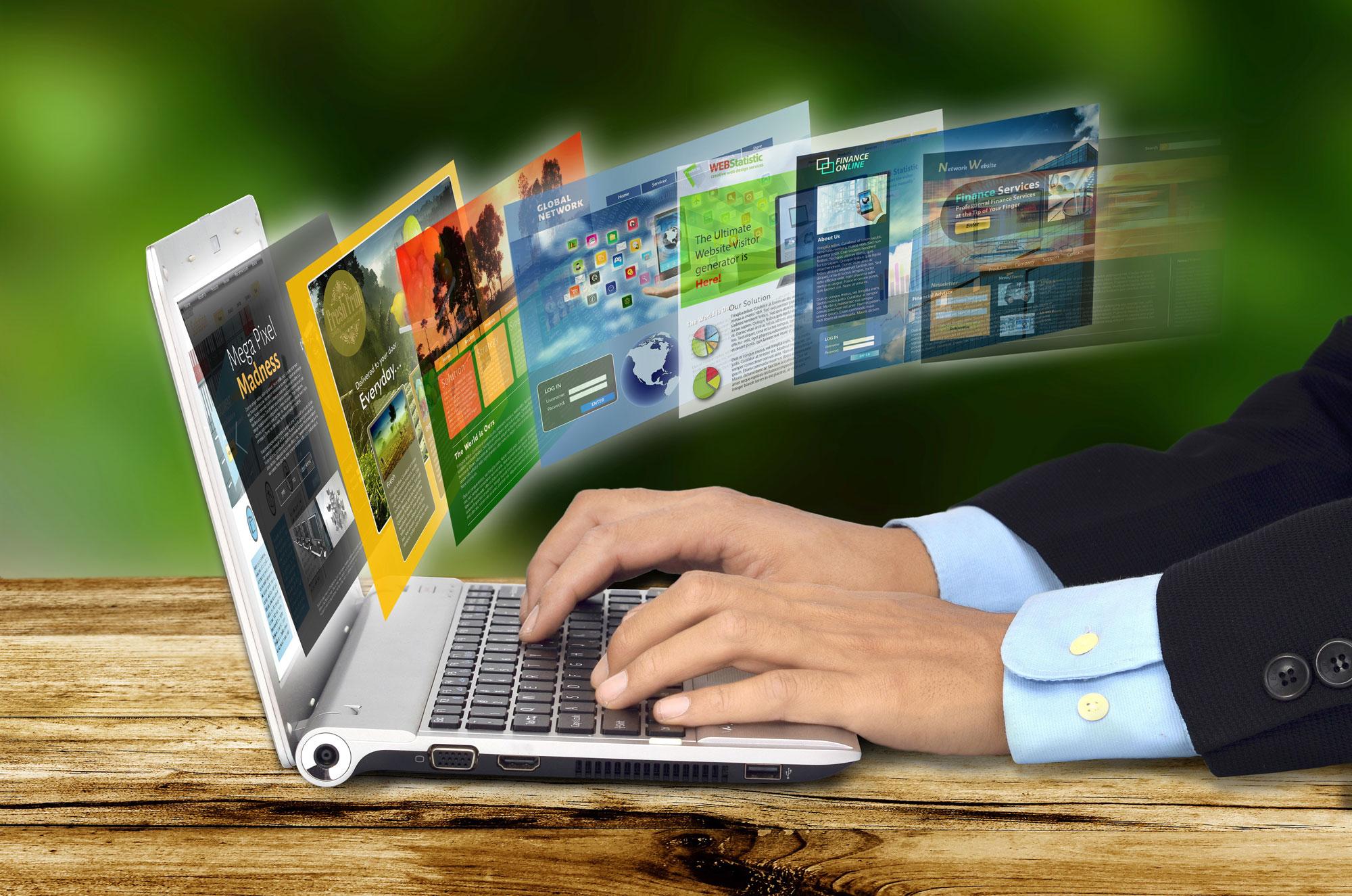 Что такое бесплатный конструктор веб-сайтов?