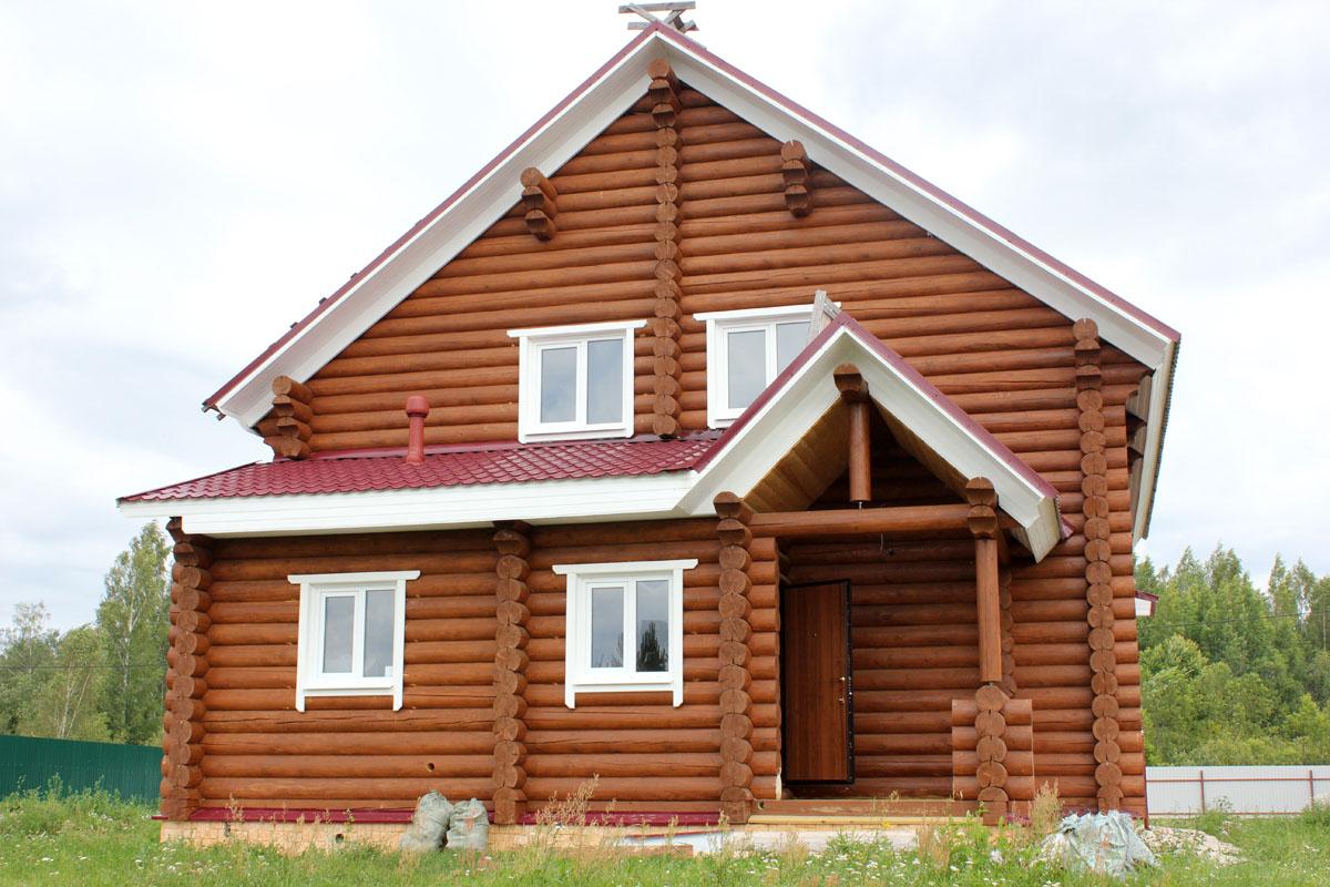 Строительство деревянных домов недорого из сосны и ели