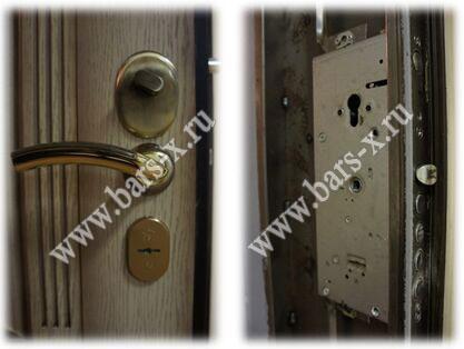 заменить замок в металлической двери выезд мастера