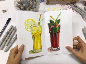 уроки рисования онлайн